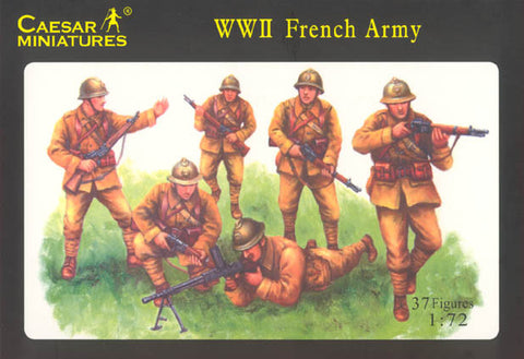 Caesar Miniatures 1/72 WW2 French Army