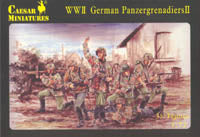 Caesar Miniatures 1/72 WWII German Panzergrenadiers II