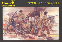 Caesar Miniatures 1/72  WW2 US Army Set 1