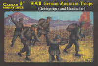 Caesar Miniatures 1/72 WW2 German Mountain Troops