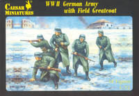 Caesar Miniatures 1/72 German Army w/ Field Great Coat