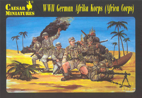 Caesar Miniatures 1/72 WW2 German Afrika Korps