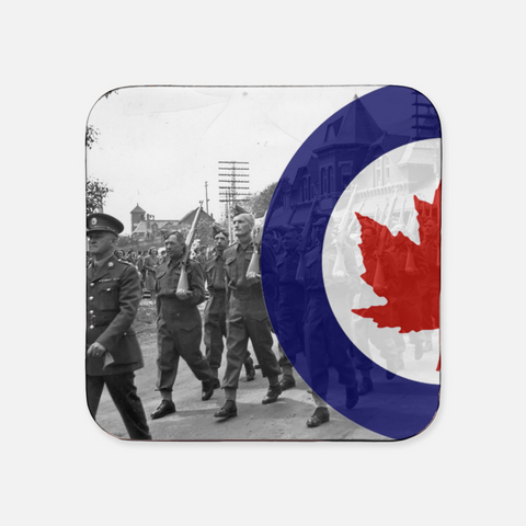 Candian Coaster w/ Airforce Roundel (x1)