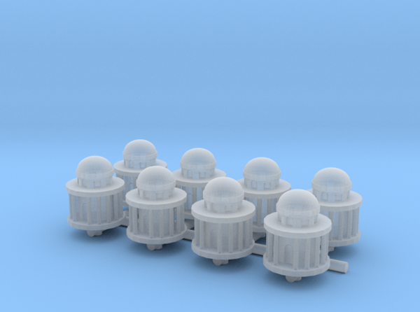 3D Printed Capital Dome (x8)