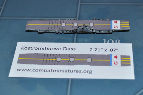 Custom Kostromitinova Class Carrier Decal