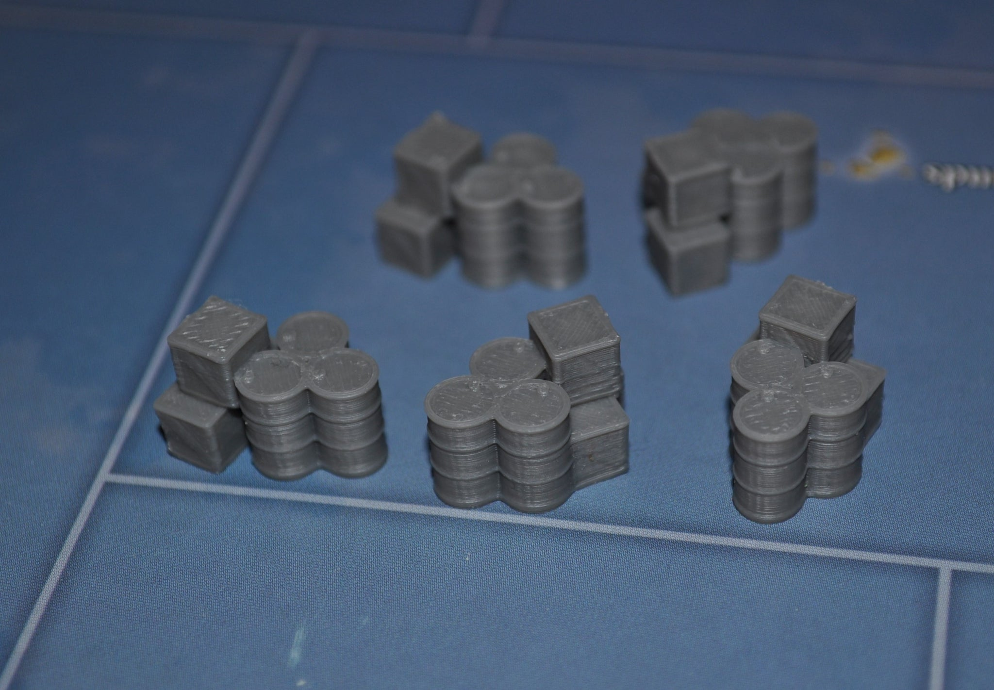 3D Printed Supply Stock Pile (x5)
