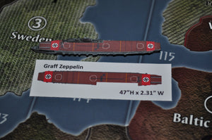 Custom Graf Zeppelin German Carrier Decal