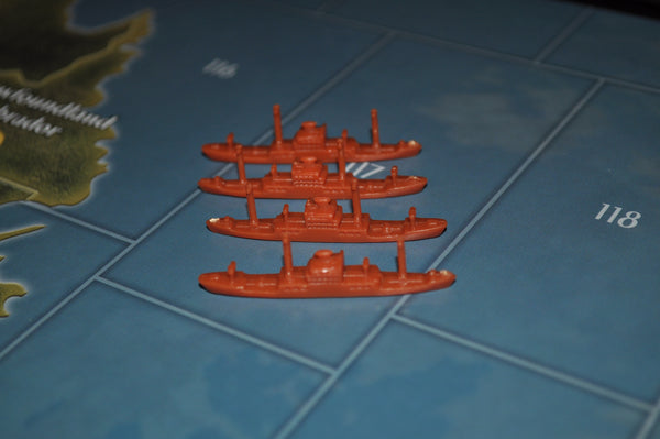 Axis & Allies Japanese Transport (x4)