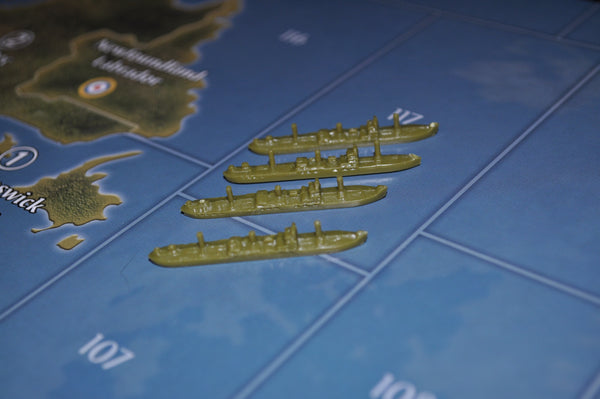 Axis & Allies US Transport (x4)