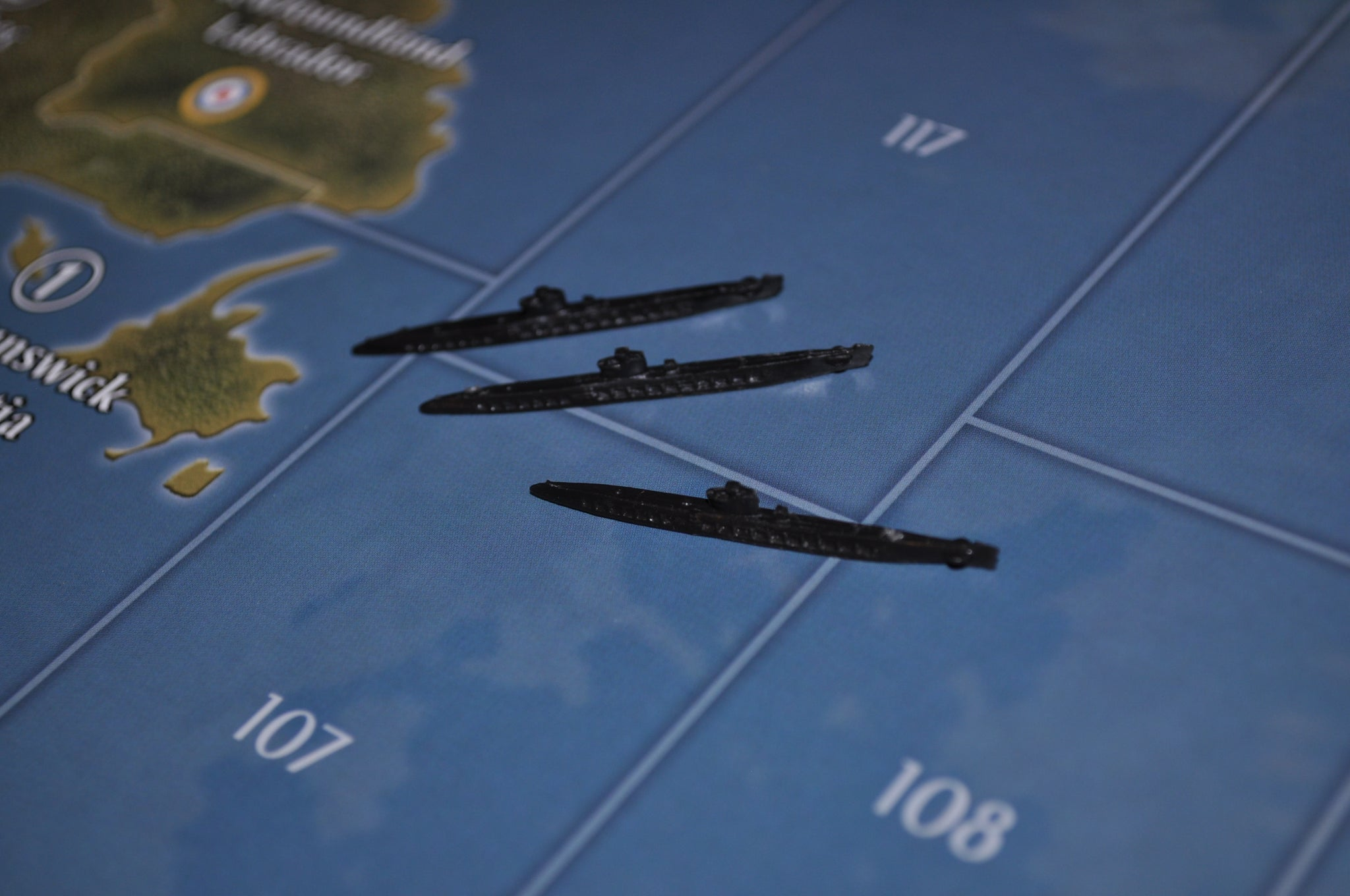Axis & Allies German Submarine (x3)