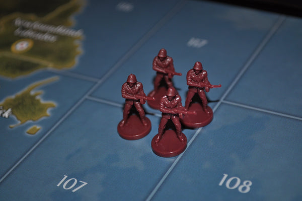 Copy of Axis & Allies Russin Infantry (x4)