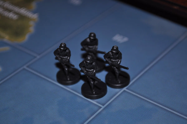 Axis & Allies German Infantry (x4)