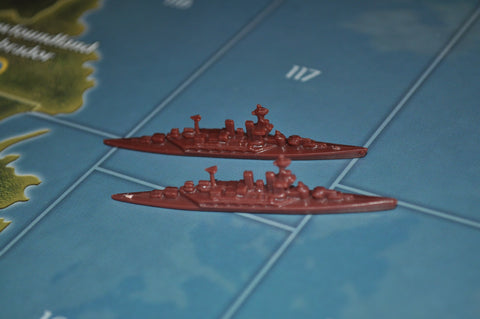 Axis & Allies Russian Battleship (x2)