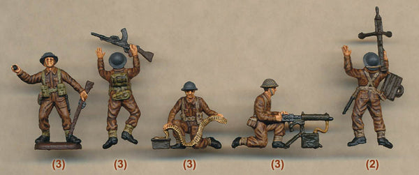 Italeri Miniatures 1/72 World War 2 British Infantry