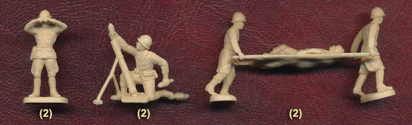 Italeri Miniatures 1/72 WW2 Free French Infantry