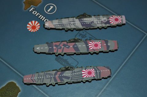 3-Pack Custom Painted Japanese Carriers