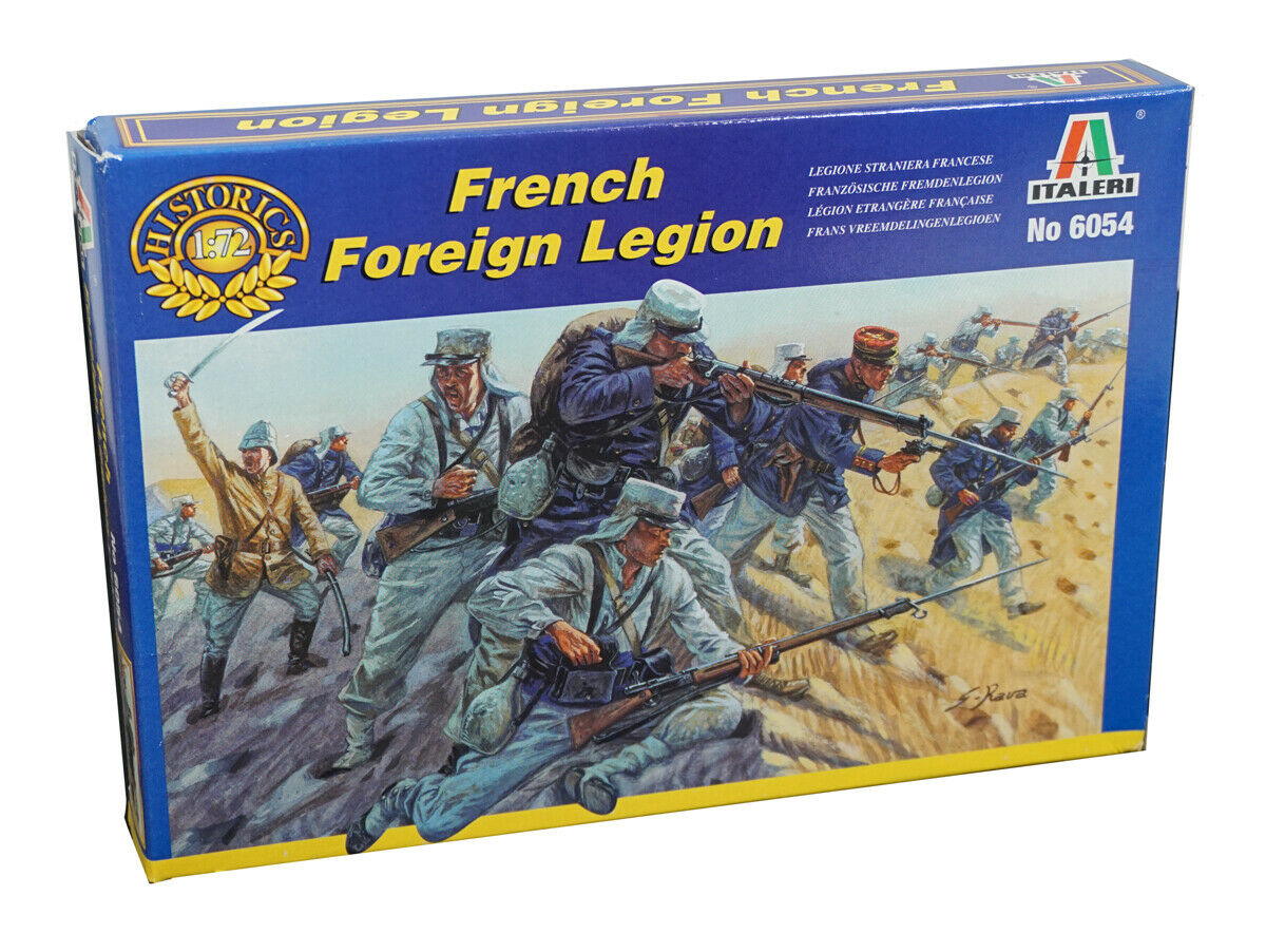 Italeri Miniatures 1/72 French Foreign Legion