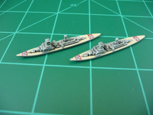 Custom Painted German Cruiser By Greg (x2)