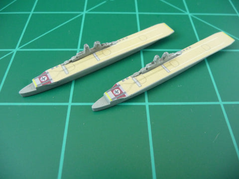 Custom Painted Magnetized German Carrier By Greg (x2)