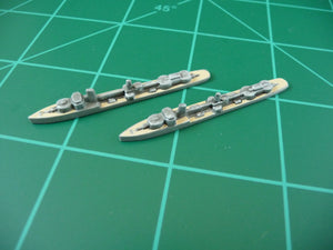 Custom Painted German Destroyer By Military Miniatures (x2)