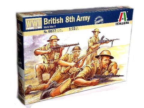 Italeri Miniatures 1/72 British 8th Army