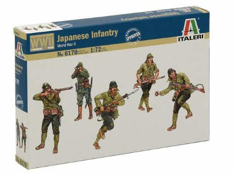 Italeri 1/72  WW2 Japanese Infantry