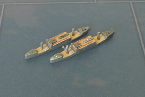 Custom Painted Japanese Transport By Military Miniatures (x2)