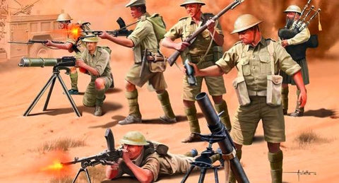Revell Miniatures 1/76 British 8th Infantry