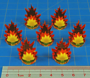 Litko Artillery Strike Markers, Small (x7)