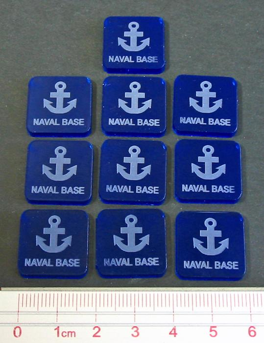 Litko Naval Base Markers (x10)