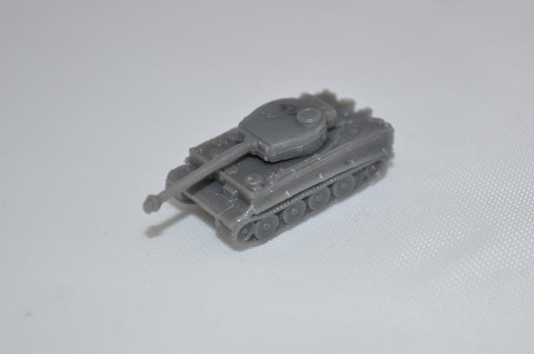 1/285 Micro Armour TIGER I Heavy Tank (x5)