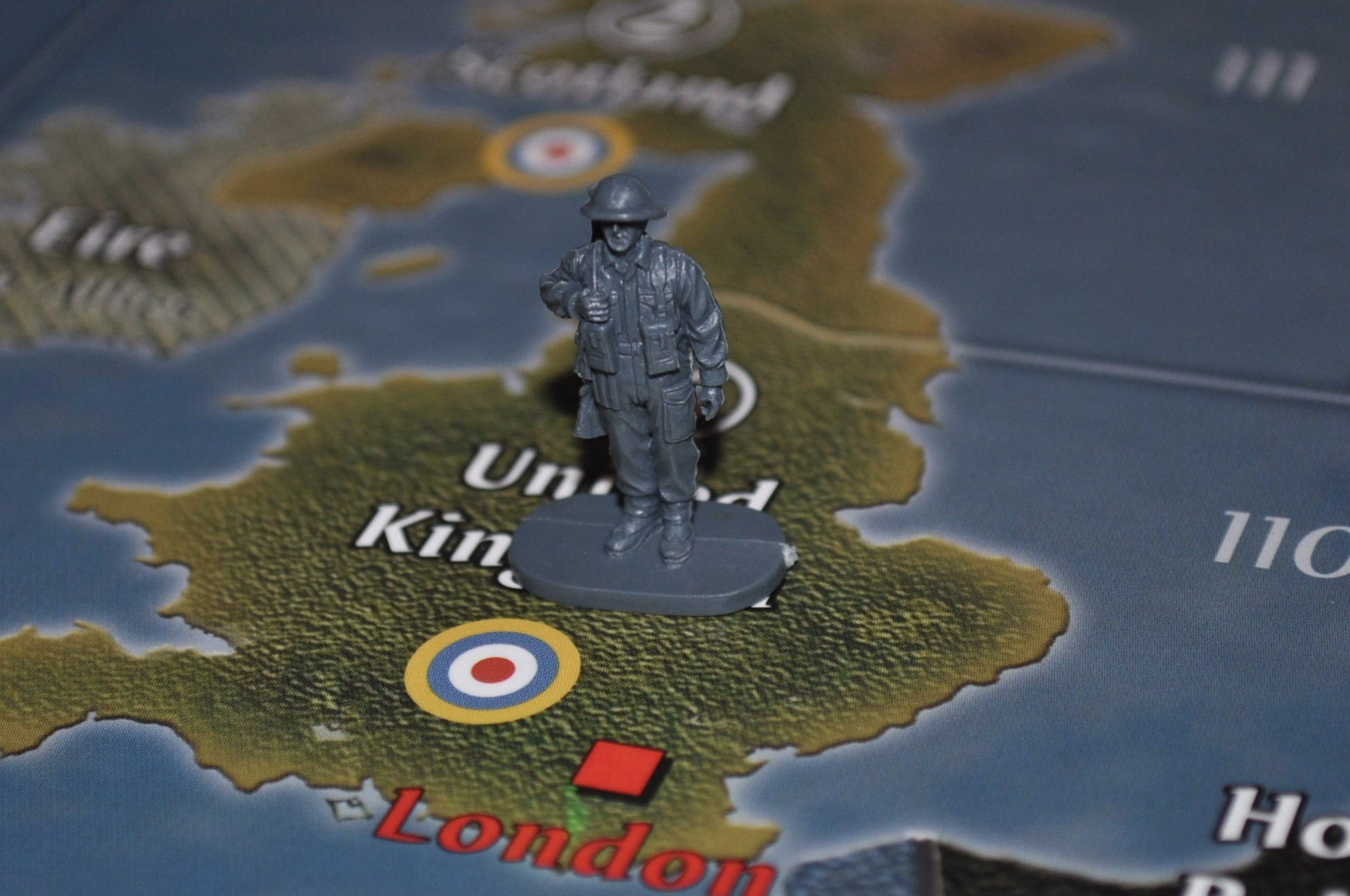1/72 Caesar WWII British Army Soldier