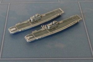 Custom Painted Magnetized US Carrier By Military Miniatures (x2)