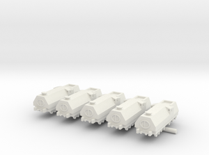 1/285 3D Printed Armored Train (x5)