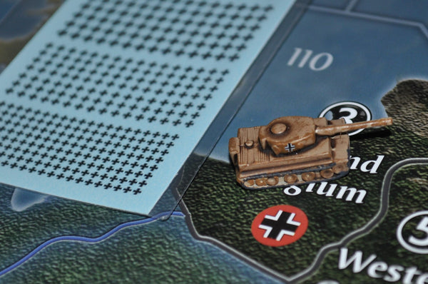 1/600 WW2 German Balken Cross Water Slide Decals