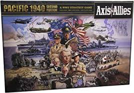 Avalon Hill Axis & Allies Pacific 1940 2nd Edition