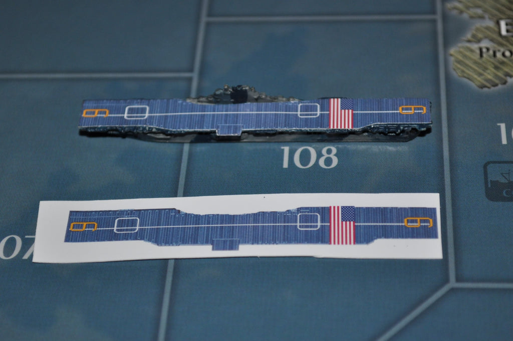 Custom Essex Class US Carrier Decal