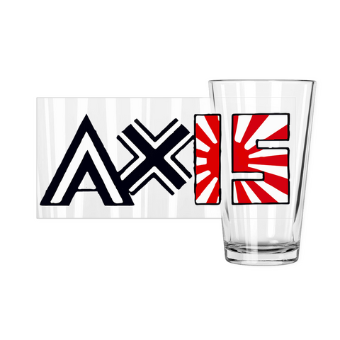 Axis Pint Glasses