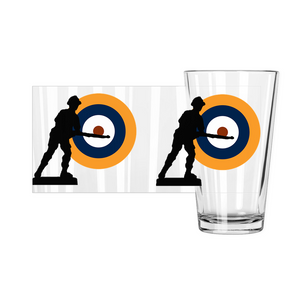 Axis & Allies British Roundel Pint Glass