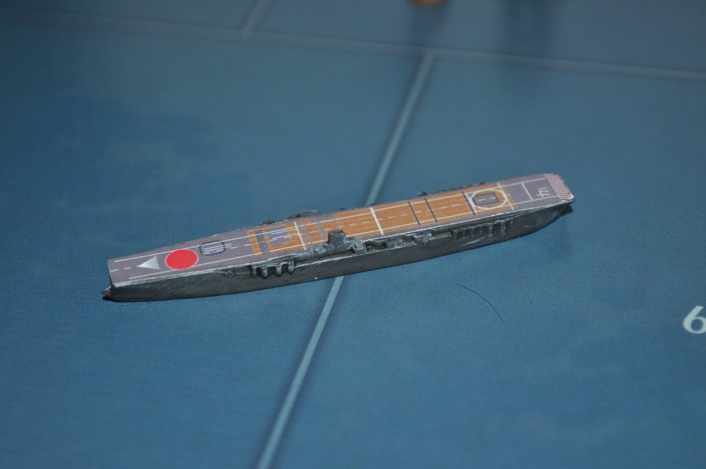 Custom Painted Kaga Japanese Carrier