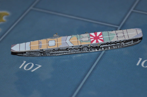 Custom Japanese Kaga Class Carrier Flight Deck Sticker (x4)
