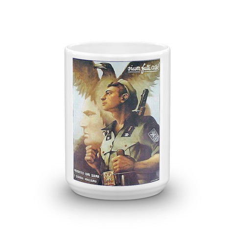 WW2 Italian Recruitment Poster Mug