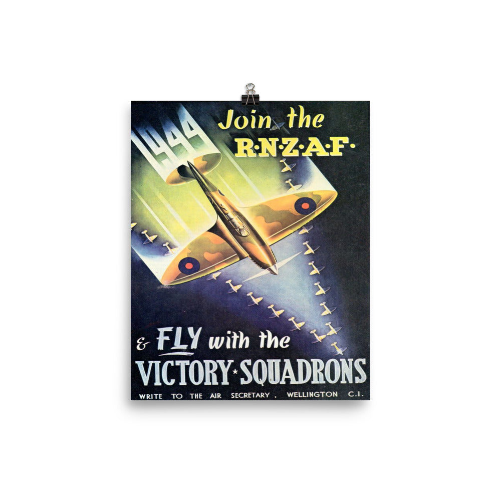 WW2 RNZAF Recruitment Poster
