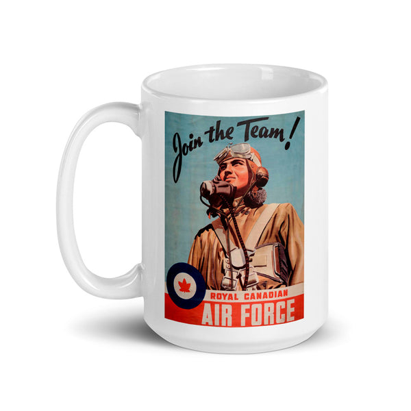 WW2 Canadian Recruitment Poster Mug
