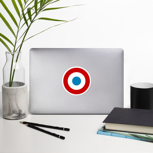 "4"" French Roundel Sticker"