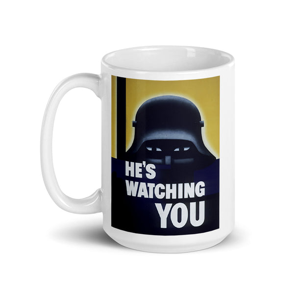 WW2 Allied Poster Mug