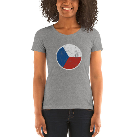 Czech Roundel Ladies' short sleeve t-shirt