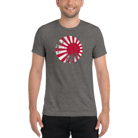 Axis & Allies Japanese Roundel (Distressed) Short sleeve t-shirt
