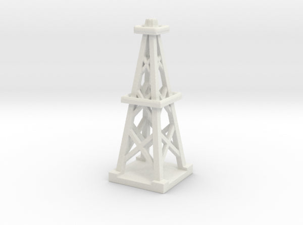 1/285 3D Printed Scale Oil Derrick