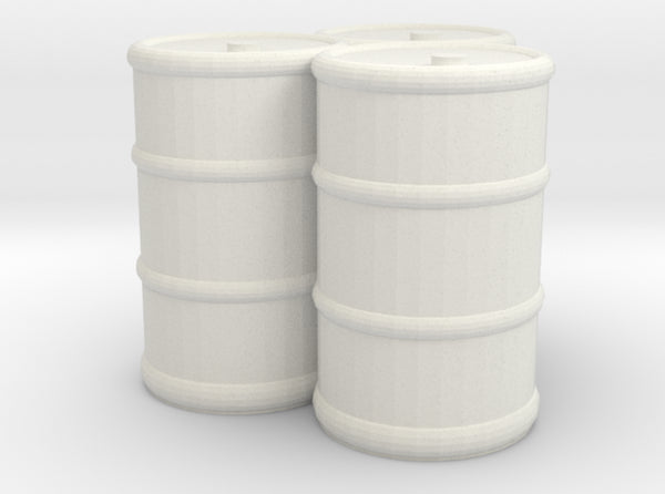 3D Printed Oil Barrels (x10)